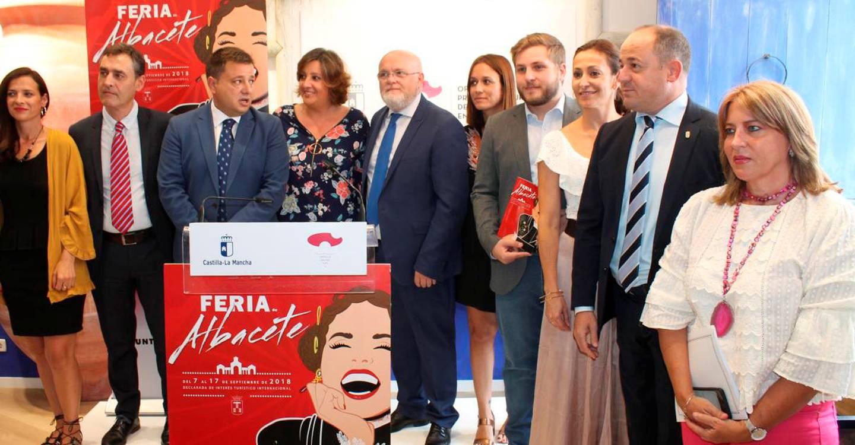 El Gobierno de Castilla-La Mancha se implica en la Feria de Albacete con la organización del video mapping, un stand propio y casi 100.000 euros de inversión