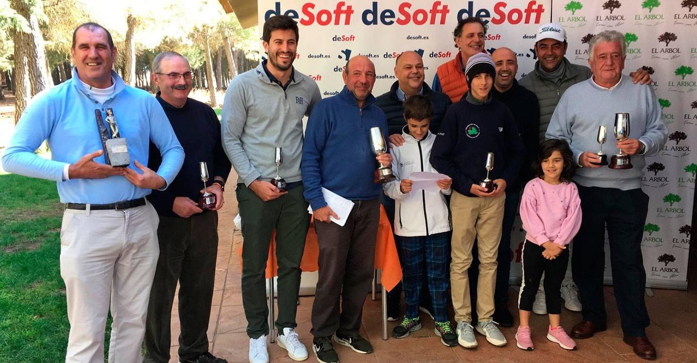 I Torneo de Golf Desoft/Viñedos El Árbol