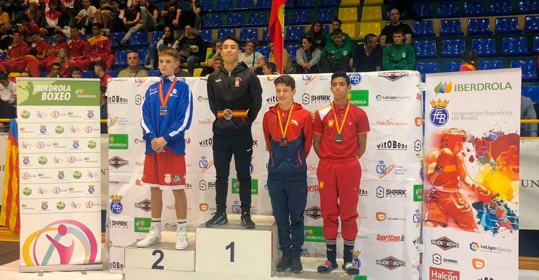 Álex Muñoz bronce en el Campeonato de España de boxeo