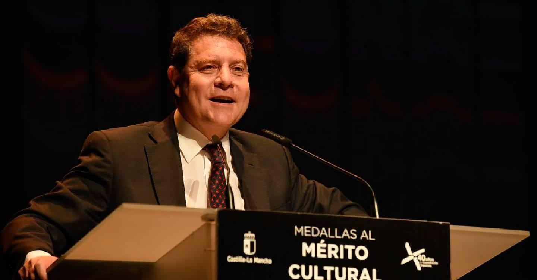 García-Page reconoce a la cultura como uno de los exponentes que más testimonian el avance del país en cuarenta años de democracia