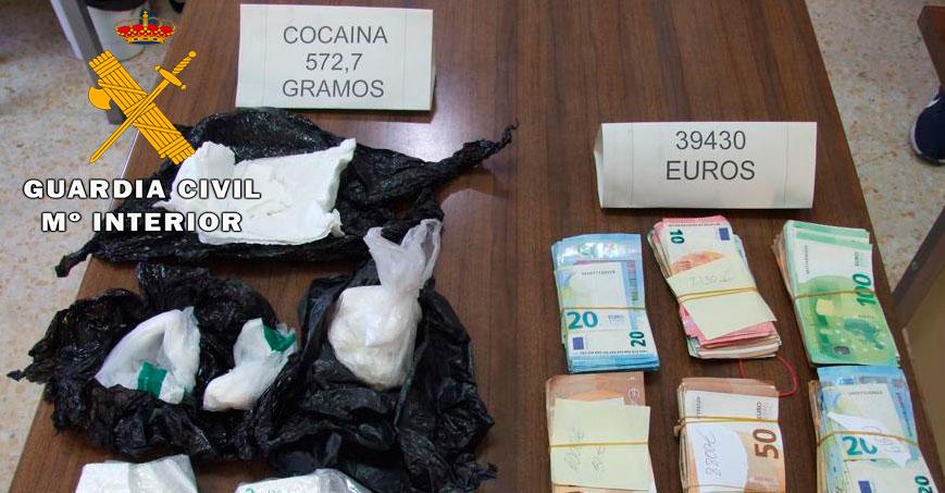 La Guardia Civil desarticula un grupo criminal dedicado al tráfico de drogas asentado en la localidad albaceteña de La Roda