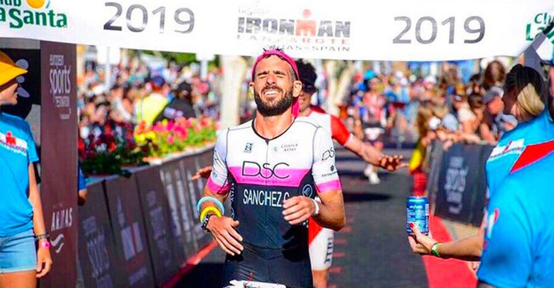 El Albaceteño David Sánchez Calixto consiguió finalizar el Ironman de Lanzarote