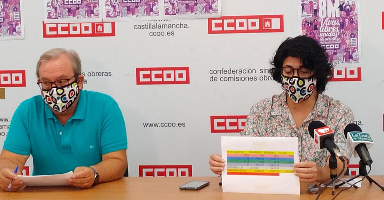 CCOO muestra su preocupación por la situación del empleo en Almansa