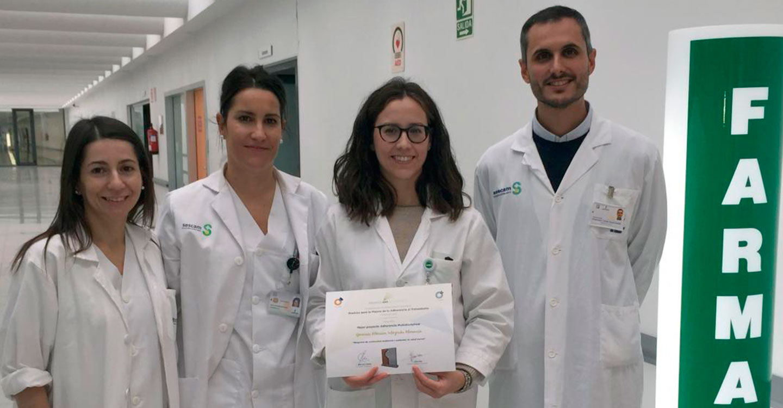 El servicio de Farmacia del Área Integrada de Almansa, finalista en unos premios nacionales que reconocen proyectos de adherencia al tratamiento