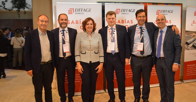 La consejera de Economía, Empresas y Empleo comparte la celebración del 15 aniversario de Eiffage Energía en Albacete