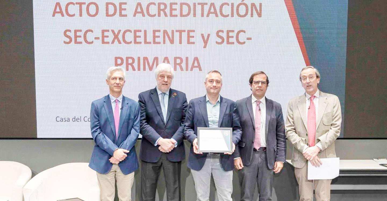 El Servicio de Cardiología de Albacete recibe dos acreditaciones de excelencia por su calidad asistencial