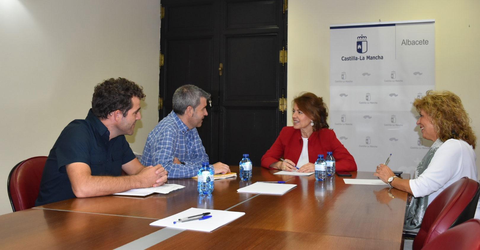 La Consejería de Bienestar Social ha comenzado una ronda de encuentros con los Colegios Profesionales de Castilla-La Mancha