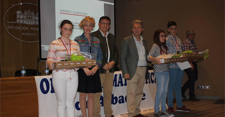 La provincia de Albacete ya tiene a sus representantes en la Olimpiada Matemática Regional