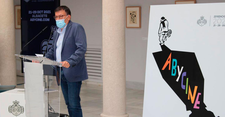 """El Gobierno regional reafirma su apoyo a ABYCINE como referente cultural, por su apuesta por el cine independiente y por ser """"seña de identidad"""" de Albacete"""