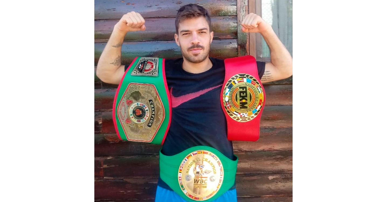 Juan Salmerón será protagonista este sábado del combate del año en España de Muay Thai