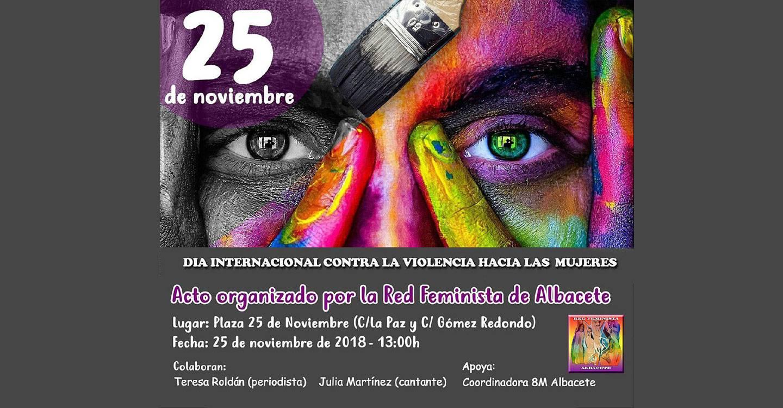 Podemos Albacete apoya la concentración del 25N contra las violencias machistas