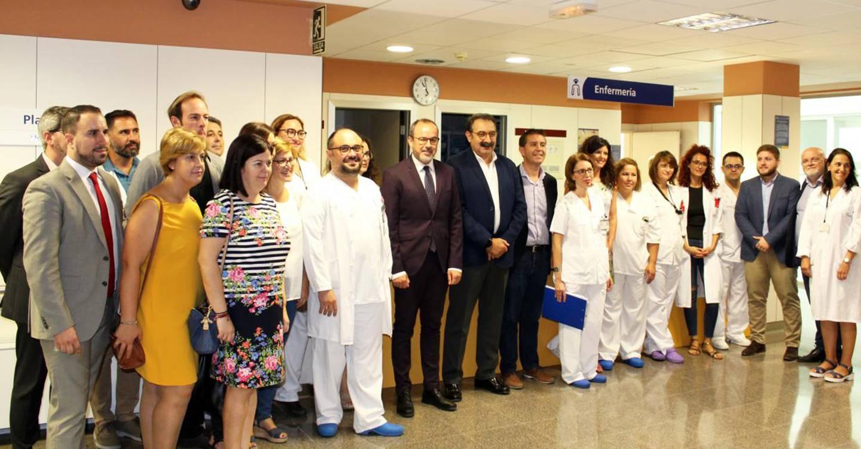 El Gobierno regional abre la planta del Hospital de Villarrobledo cerrada en la anterior legislatura