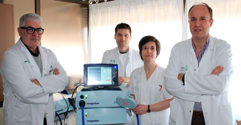 Los servicios de Neurología y Neurofisiología Clínica de Albacete incorporan un nuevo método de neurorrehabilitación