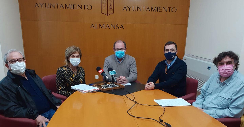 CCOO Albacete y el Ayuntamiento de Almansa se reúnen para trabajar en defensa del sector ferroviario