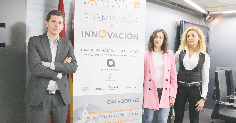 """EL Centro Comercial Albacenter y el ayuntamiento de Albacete presentan la segunda edición del Concurso de Innovación """"Wonderful""""."""