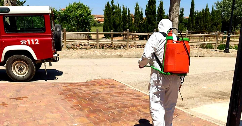 Unas 30 localidades han recibido esta semana la ayuda de Diputación de Albacete para desinfectar los espacios destinados a mercadillos tras su celebración
