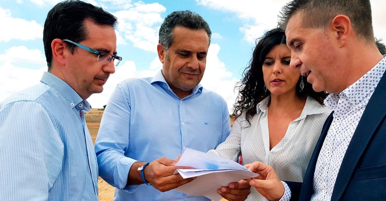 Las obras del Convenio de Caminos suscrito entre la Diputación de Albacete y la JCCM mejoran más de 6.500 metros de vías en Barrax
