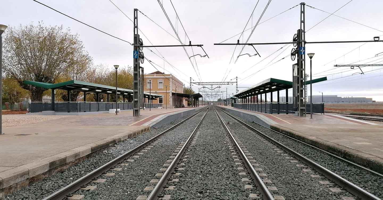 Adif finaliza la construcción del paso inferior entre andenes en la estación de Villarrobledo