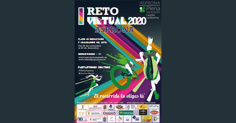 "ASPRONA presenta su ""I Reto Virtual"""