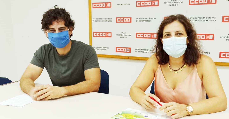 CCOO presenta en Villarrobledo la campaña informativa de la vendimia