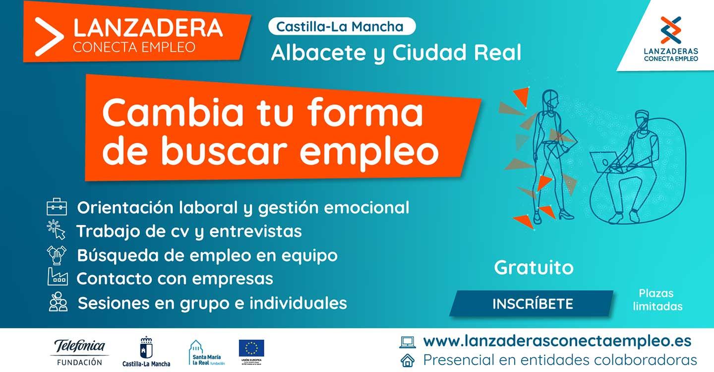 Castilla-La Mancha contará a partir de marzo con nuevas Lanzaderas Conecta Empleo en Albacete y Ciudad Real
