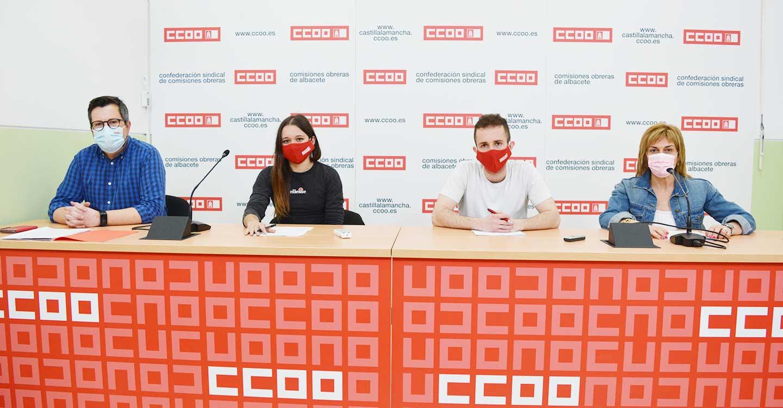 CCOO Albacete apoya la movilización estudiantil en defensa de la educación pública y los derechos de los estudiantes