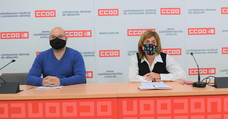 CCOO Albacete lamenta el grave accidente de trabajo ocurrido ayer en La Roda