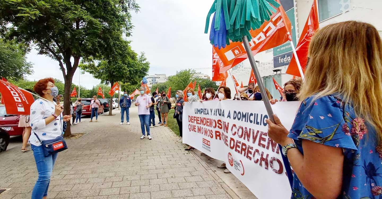 CCOO Albacete celebra el Preacuerdo alcanzado en el Convenio Colectivo de Limpieza y Ayuda a Domicilio de Albacete