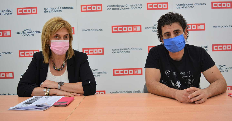 """CCOO Albacete reclama a la patronal """"desbloquear"""" la negociación colectiva para reactivar la economía"""
