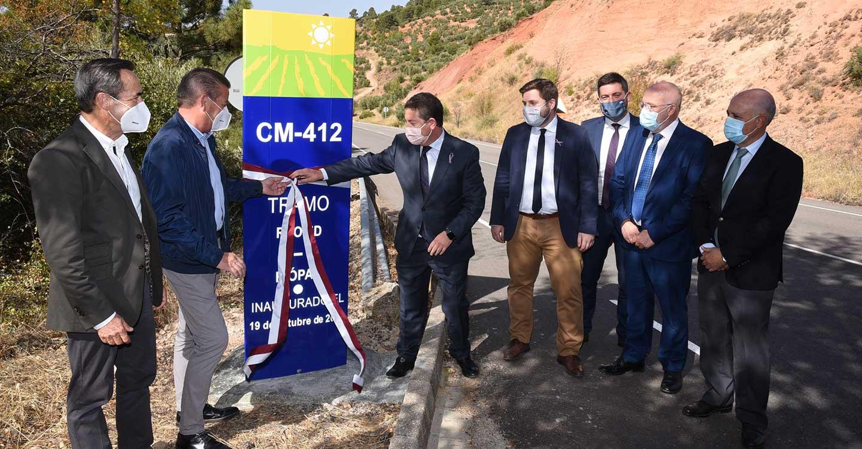 El Gobierno regional remodela la CM-412 entre Reolid-Zapateros y Puerto de Crucetas-Riópar con una inversión de 1,2 millones de euros