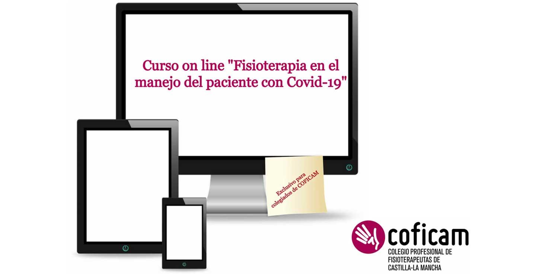 """COFICAM pone en marcha el curso online de """"Fisioterapia en el manejo del paciente con COVID-19"""""""