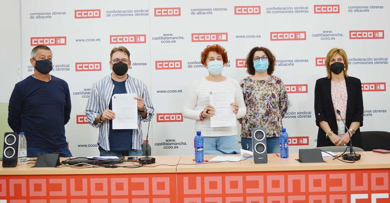"""CCOO celebra una sentencia contra Valoriza que afecta a 45 trabajadores a los que la empresa tendrá que pagar los atrasos por aplicarles """"ilegalmente"""" una doble escala salarial"""