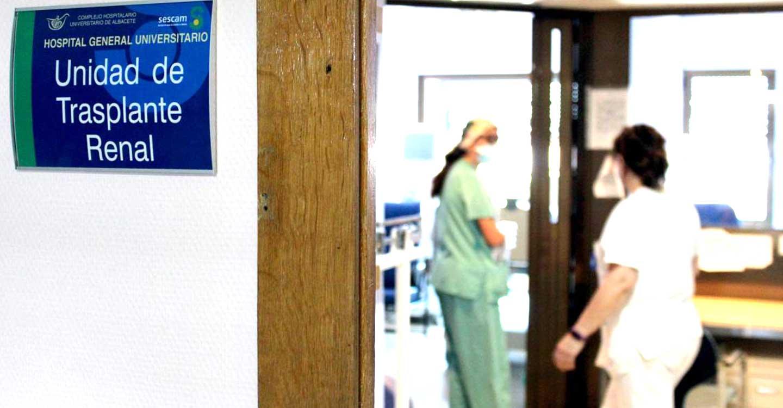 El Complejo Hospitalario Universitario de Albacete recupera el programa de Trasplante Renal
