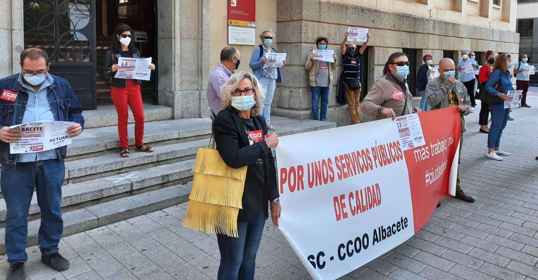 CCOO CLM reúne en Albacete a sus representantes de la Administración General del Estado para exigir la incorporación inmediata de personal