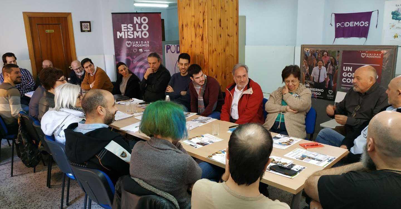 La Coordinadora Provincial de Podemos se reúne en Almansa para reforzar el trabajo del partido en los municipios.