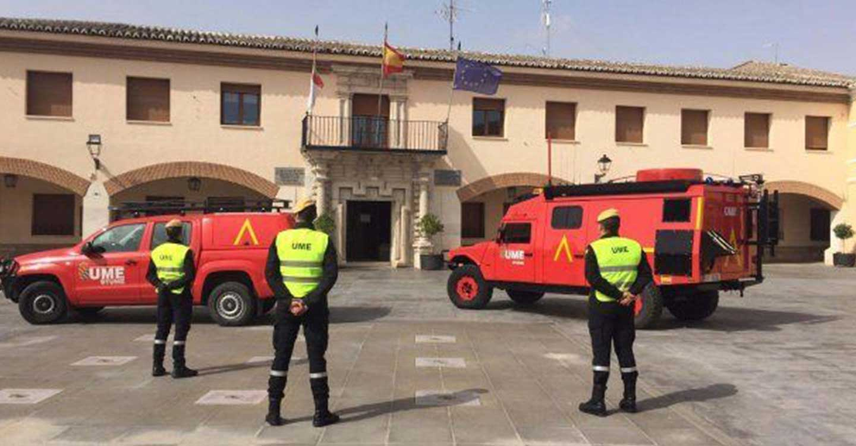 Delegación del Gobierno desactiva la presencia de la UME en la provincia de Albacete