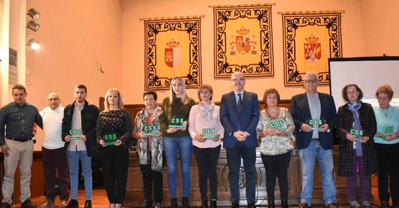 El diputado de Sanidad reivindica la figura de las mujeres rurales en el Consorcio de Servicios Sociales en un homenaje a 11 de sus profesionales