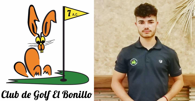 Eduardo Lozano, del Club de Golf El Bonillo, campeón provincial de Golf