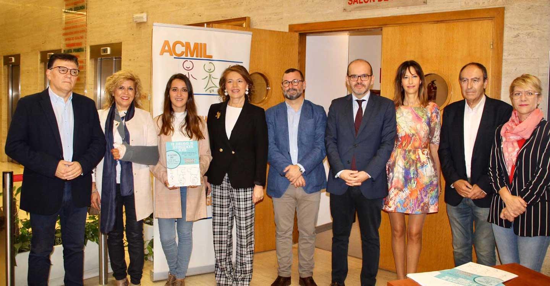 El Gobierno de Castilla-La Mancha asiste a la inauguración de las VII Jornadas de Sensibilización de ACMIL 'CREER Y CRECER'
