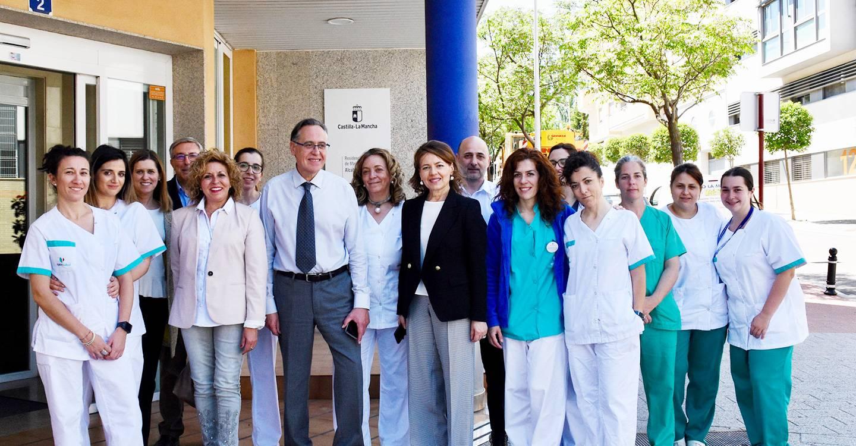 El Gobierno de Castilla-La Mancha destaca el buen trato y carácter familiar de la Residencia de Mayores 'Alcabala' de Albacete