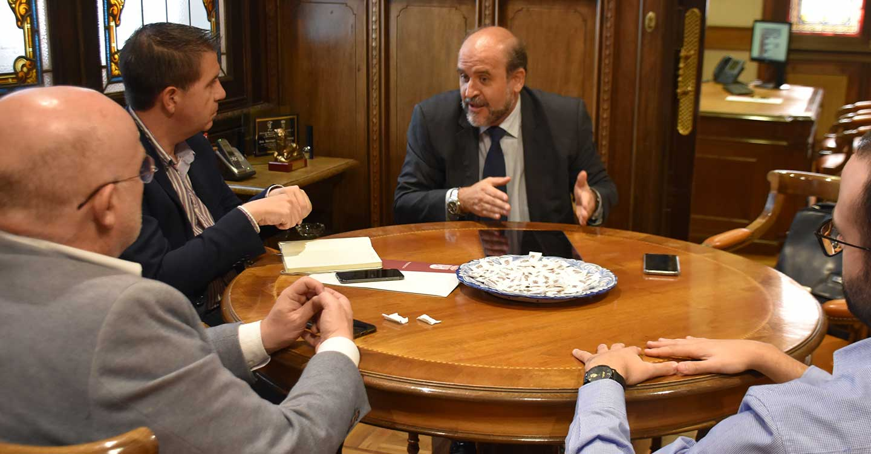 El Gobierno de Castilla-La Mancha y la Diputación de Albacete estudian nuevas vías de colaboración entre ambas administraciones