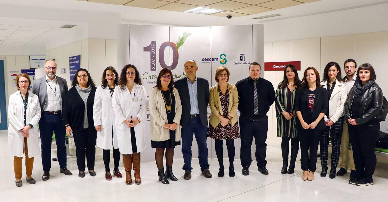 El Gobierno regional destaca el trabajo de los profesionales del Hospital de Villarrobledo como referentes para la formación en ventilación mecánica no invasiva