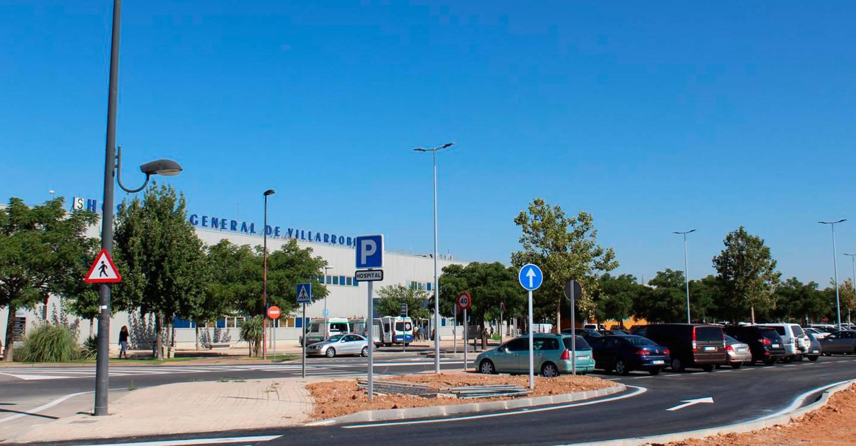 El SESCAM destina más de 26.000 euros a obras de mejora de los accesos y al entorno del Hospital General de Villarrobledo