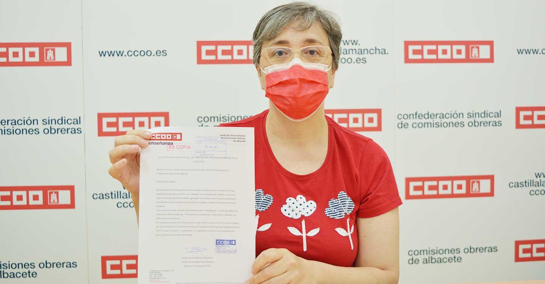 """CCOO denuncia el """"incumplimiento"""" de la normativa de la gestión de bolsas de trabajo de la Delegación de Educación, Cultura y Deportes de Albacete"""