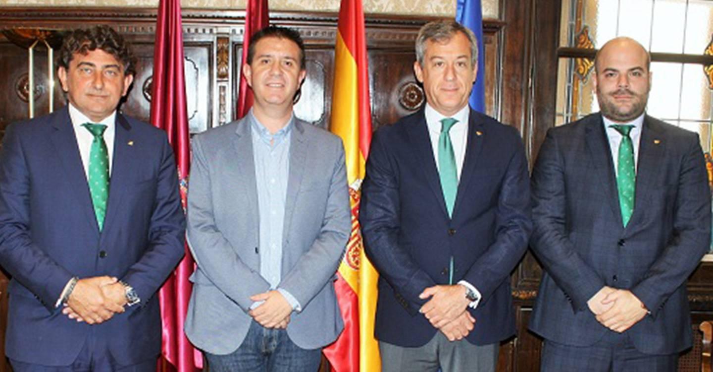 Eurocaja Rural comparte con la Diputación de Albacete su proyecto de negocio y su implicación con la provincia