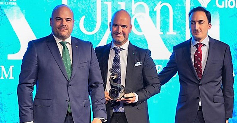 Eurocaja Rural entrega el 'Premio Joven Empresario' en los 'XXII Premios Empresariales San Juan' de FEDA