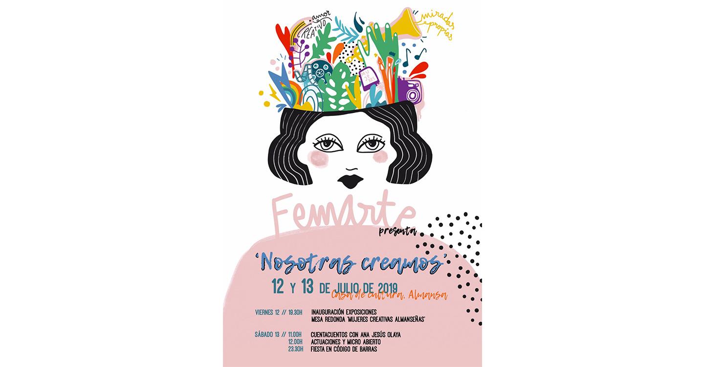 Femarte organiza sus primeras jornadas de visibilización de las mujeres creativas almanseñas.