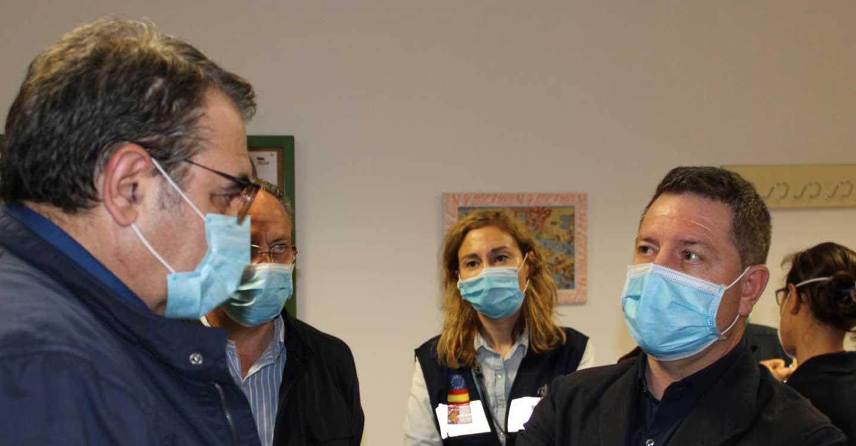 El Gobierno de Castilla-La Mancha agradece la labor de todos los profesionales implicados en las labores de control del incendio del Hospital de Hellín