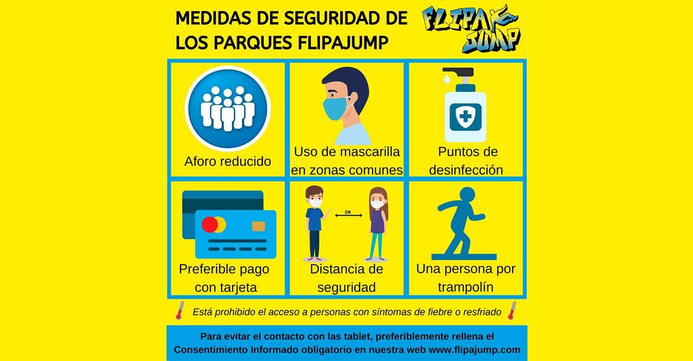 El centro deportivo de ocio y entretenimiento familiar FlipaJump Albacete, reactiva su actividad con estrictas medidas de seguridad