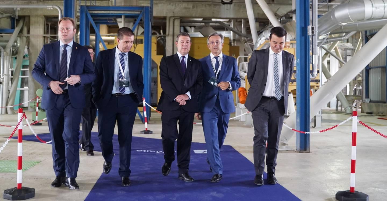 García-Page inaugura la ampliación de la planta de Intermalta en Albacete